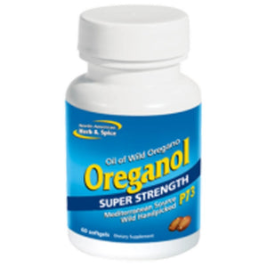 North American Herb&Spice Super Strength Oreganol 60 gels 9022 - NutritionalInstitute.com
