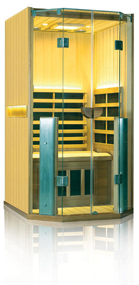Clearlight Sanctuary 1 Full Spectrum One Person Infrared Sauna Basswood