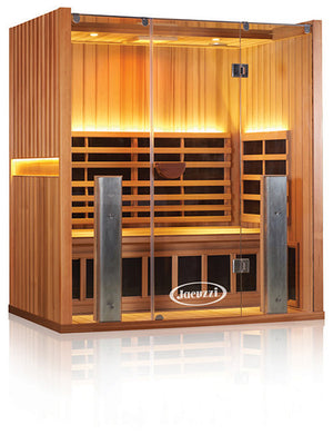 Clearlight Sanctuary 3 Full Spectrum Three Person Infrared Sauna Cedarwood