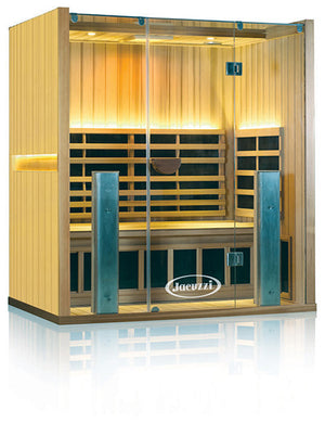Clearlight Sanctuary 3 Full Spectrum Three Person Infrared Sauna Basswood