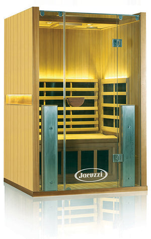 Clearlight Sanctuary 2 Full Spectrum One Person Infrared Sauna Basswood