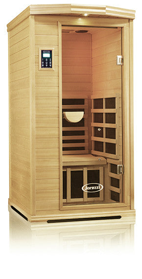 Clearlight Premier Is-1 One Person Far Infrared Sauna Basswood
