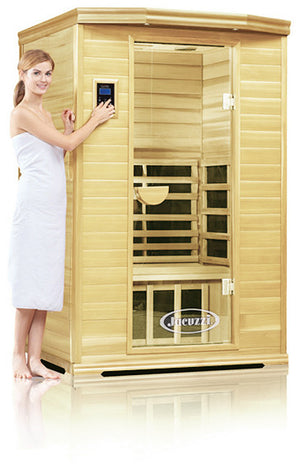 Clearlight Premier Is-2 Two Person Far Infrared Sauna Basswood