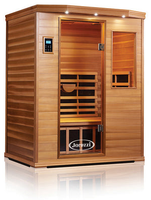 Clearlight Premier Is-3 Three Person Far Infrared Sauna Cedarwood