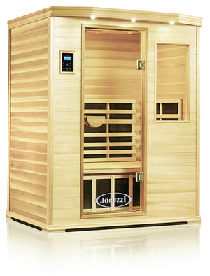 Clearlight Premier Is-3 Three Person Far Infrared Sauna Basswood