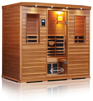 Clearlight Premier Is-5 Five Person Far Infrared Sauna Cedarwood