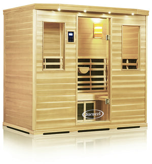 Clearlight Premier Is-5 Five Person Far Infrared Sauna Basswood