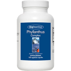 Allergy Research Group Phyllanthus Complex Supports The Liver 120 Veg Capsules ME