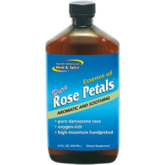 North American Herb&Spice Rose Petal Essence 12 oz 044 ASD ME