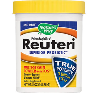 Nature's Way Primadophilus Reuteri Powder 5 oz 14241 - NutritionalInstitute.com