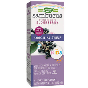 Nature's Way Sambucus for Kids Berry Flavored 4 oz 6973 - NutritionalInstitute.com