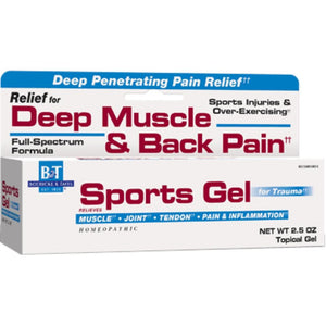 Boericke Tafel Sports Gel Support Muscle, Joint And Tendon Pain 2.5 Ounces