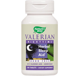 Nature's Way Valerian Nighttime Sleep Aid 100 tabs 6640