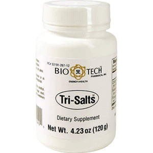 Bio-Tech TriSalts Supporting Healthy Heart Function 120 Grams - NutritionalInstitute.com