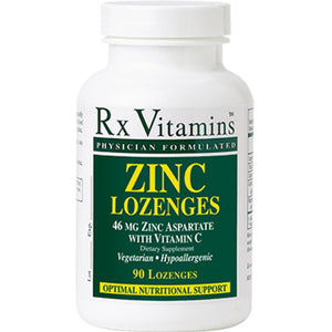 Rx Vitamins Zinc Lozenges 15 MG 90 loz ME