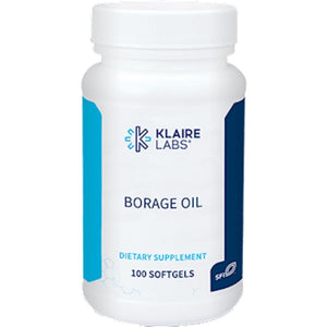 Klaire Labs Borage Oil, Support Your Joints And Immune System, 1000 Mg 100 Gels