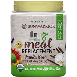 Sunwarrior Illumin8 Vanilla Bean 10 servings 110095011 SD