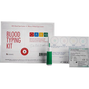 Eldon Blood Type Testing Kit 1 kit - NutritionalInstitute.com