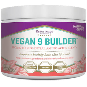 Reserveage Vegan 9 Builder Powder 30 Servings AA3020 ASD ME