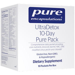 UltraDetox 10-Day Pure Pack 10 packs ME