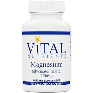 Vital Nutrients Magnesium Glyc. Malate 120 mg 100 caps VNM IHI