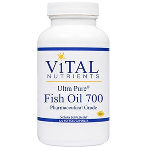 Vital Nutrients Ultra Pure Fish Oil 700 120 gels IHI