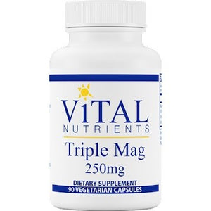Vital Nutrients Triple Mag 250 mg 90 capsules IHI