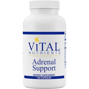 Vital Nutrients Adrenal Support 120 Caps IHI