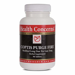 Health Concerns Coptis Purge Fire Modified Long Dan Xie Gan Tang Herbal 90 Tab