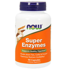 NOW Super Enzymes 90 caps 2963 SD