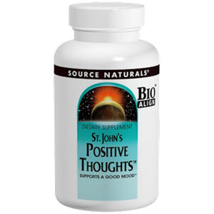 Source Naturals St. John's Positive Thoughts 45 tabs SN0348 SD