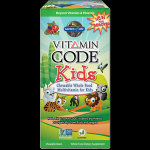 Garden of Life Vitamin Code Kids Chewable Multi 30Tabs101707 SDG NP