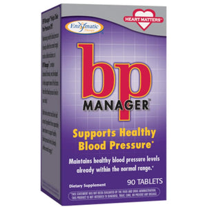 Nature's Way BP Manager 90 tabs 02869 ME