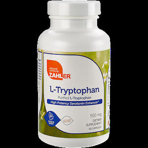 Advanced Nutrition By Zahler L Tryptophan for a Healthy Immune 60 Capsules SDG NP