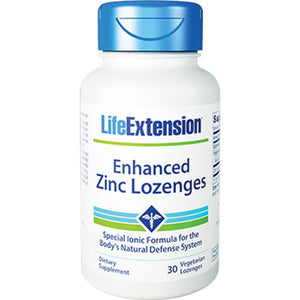 Life Extension Enhanced Zinc Lozenges 30 vegcaps 1961 1961 ME