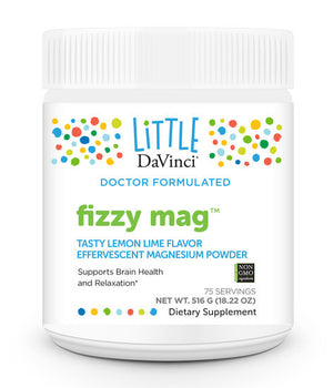 Davinci Labs Fizzy Mag Support Brain Health and Relaxation 75 Servings