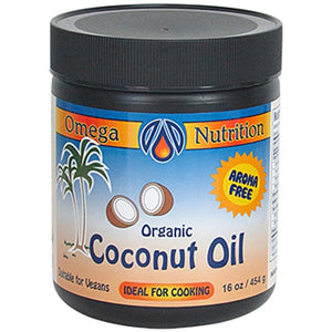 Omega Nutrition Coconut Oil 16 oz COCCB016 ASD ME