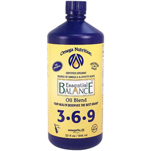 Omega Nutrition Essential Balance Oil Blend 32 oz ELEBO032 ME
