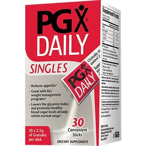 Natural Factors PGX Daily Singles Supports Weight Management 30 Packet EM