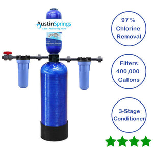 Whole Home Filter Chloramines For Municipality 400,000 Gallon Austin Spring - NutritionalInstitute.com