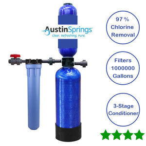 Whole House Filter System For City Or Municipality 1000,000 Gallon Austin Spring - NutritionalInstitute.com