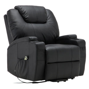 Electric Lift Recliner Heated Massage Sofa HW53991 WC