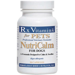 Rx Vitamins for Pets NutriCalm Dogs 50 Caps Stress Support