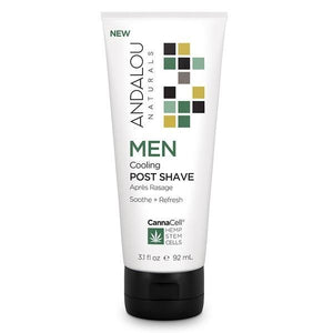Andalou Naturals CannaCell Men's Cooling Post Shave Balm 3.1fl.oz.234149 OC