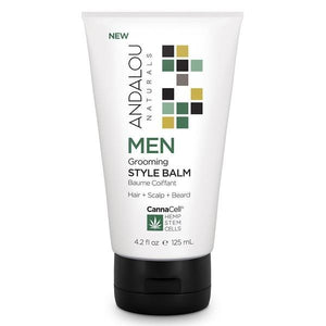 Andalou Naturals CannaCell Men's Grooming Style Balm 4fl.oz.234156 OC