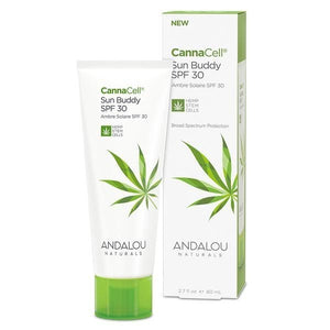 Andalou Naturals CannaCell Sun Buddy Sunscreen SPF 30 2.7fl.oz.234132 OC