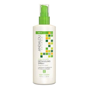 Andalou Naturals Exotic Marula Oil Silky Smth Detangle spry 8.2floz 231299 OC