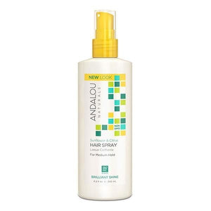 Andalou Naturals Sunflower & Citrus Perfect Hold Hair Spray 8.2fl.oz.225579 OC