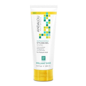 Andalou Naturals Sunflower & Citrus Styling Gel 6.8fl.oz.225580 OC