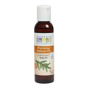 Aura Cacia Balsam Fir Body Oil 4 fl oz 188513 OC